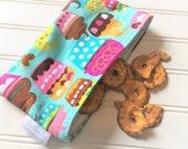 Snack-Bag-Cupcakes-Pink-Aqua-Eco-Friendly-Reusable-Sandwich-Food-Baby-Wet-Dry-Baggies-Back-To-School-Birthday-Kids-Gift-Sets