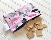 Snack-Bag-Cats-Pink-Black-Eco-Friendly-Reusable-Sandwich-Food-Art-Make-Up-Baby-Wet-Dry-Baggies-Lunch-Preschool-Back-To-School-Kids-Gift-Sets