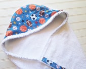 Personalized-Kids-Towels-Baby-Boys-Hooded-Sports-Blue-All-Stars-Minky-Dot-Bath-Beach-Swim-Suit-Cover-Up-Terry-Swimwear-Toddler-Shower-Gift