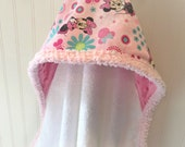 Personalized-Kids-Towels-Baby-Girls-Hooded-Minnie-Mouse-Pink-Minky-Dot-Bath-Beach-Swim-Suit-Cover-Up-Terry-Swimwear-Toddler-Shower-Gift