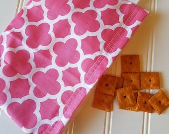 Snack-Bag-Pink-Deco-Coif-Eco-Friendly-Reusable-Sandwich-Food-Art-Make-Up-Baby-Wet-Dry-Baggies-Lunch-Preschool-Back-To-School-Kids-Gift-Sets