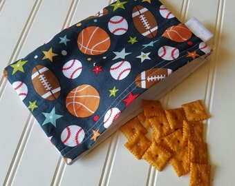 Snack-Bag-Sports-Eco-Friendly-Reusable-Sandwich-Food-Toy-Art-Make-Up-Baby-Wet-Dry-Baggies-Lunch-Preschool-Back-To-School-Kids-Gift-Sets