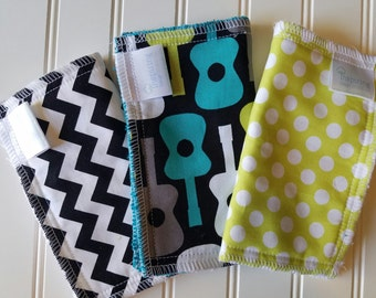 Kids-Wash-Cloth-Guitar-Chevron-Baby-Wipes-Food-Clean-Up-Art-Time-Wiping-Board-New-Parent-Baby-Accessories-Shower-Baby-Toddler-Gift-Set