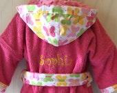 Girls-Robes-Pink-Butterfl...
