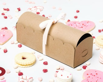 DELUXE KIT - Scalloped Treasure Cookie Boxes - Set of 3 - FREE Shipping