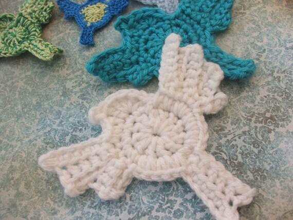 Crochet Bird Patterns Tiny Bird Appliques With New Designs Etsy