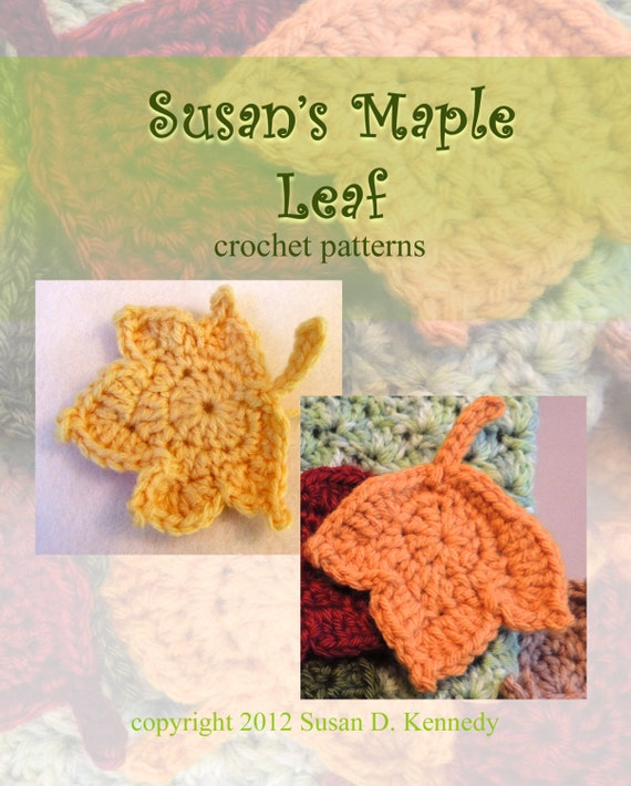 Instant Dowload Leaf Patterns 2 Fast And Easy Fall Maple Etsy