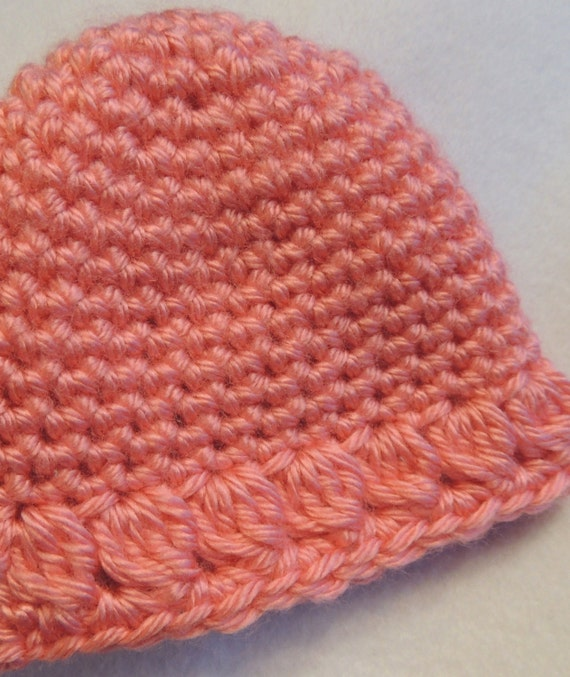 Crochet Baby Hat And Rose Pattern Quick And Easy Single Etsy