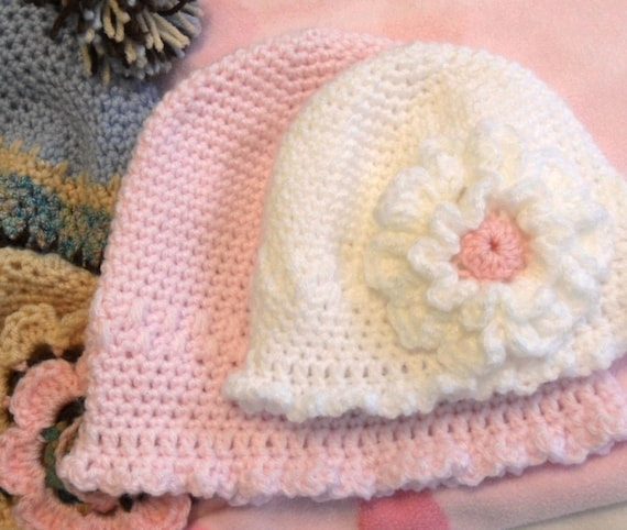 Baby Hat Crochet Pattern Instant Download For Easy And Delicate