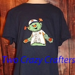Houston Astros, Orbit Mascot T-Shirt, MLB, Baseball, Team Spirit