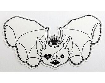 Spooky Cute Bat Sticker Pocket Full of Posiez