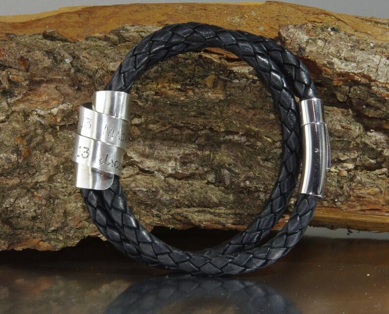 Geographical Coordinates Bracelet Coordinate Bracelet Location Bracelet Latitude Longitude Bracelet Customized Bracelet GPS bracelet