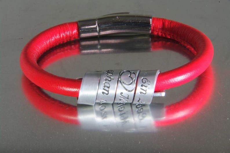 Women's Personalized Bracelet Secret Message Jewelry image 0