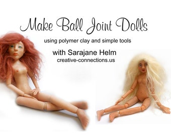 Make Ball Joint Dolls with Polymer Clay