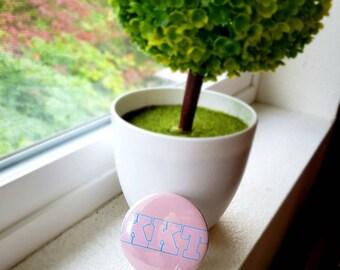 KKT Scream Queens Large Button Kappa Chanel Chanels queen Horror red devil green meanie Pink Blue Pastel kawaii