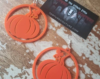 Fall Pumpkin Hoops More Colors