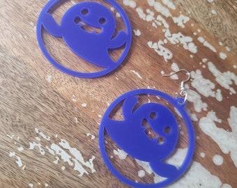 Vampire Ghost Hoops More Colors