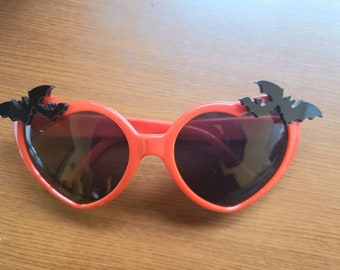 Nocturne Bats Sunglasses Heart Shaped More Colors Gothic Goth Vamp