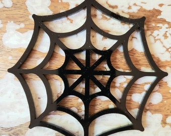 Spiderweb Ornament Snowflake More Colors Torture Couture Gothic Horror Goth Acrylic Lolita Christmas Xmas Ornaments Web