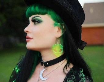 Cyber Alien Earrings-More Colors