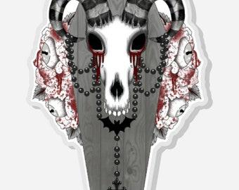 Torture Ram Logo Pin
