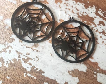 Spiderweb Spider Hoops More Colors
