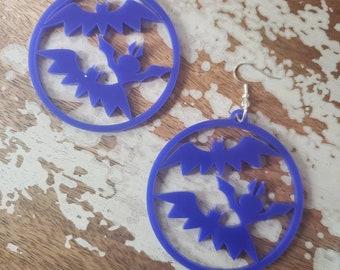 Spooky Bats Hoops More Colors