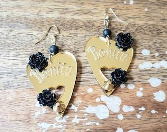 Bonita Planchette Earrings
