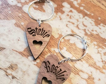 Personalized Planchette Hoops