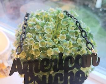 American Psycho Necklace