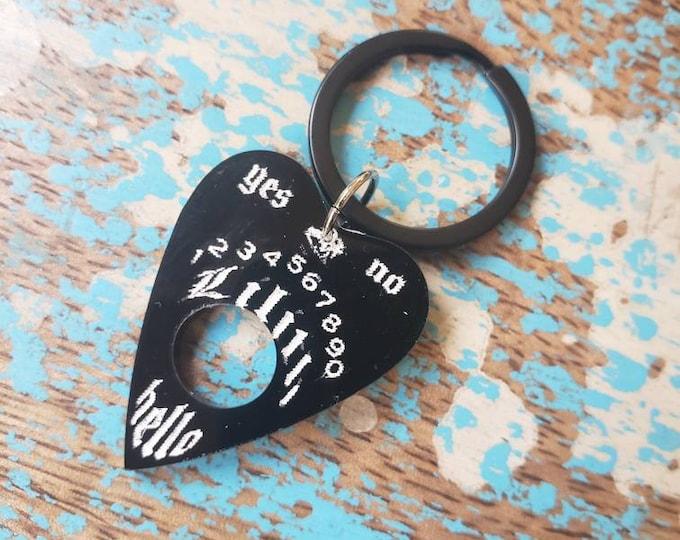 Featured listing image: Ouija Pet or Key Chain ID Tag Custom