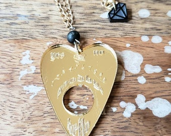 Planchette Necklace Ouija