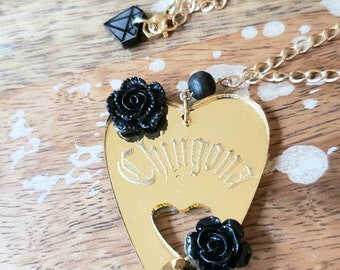 Chingona Planchette Necklace
