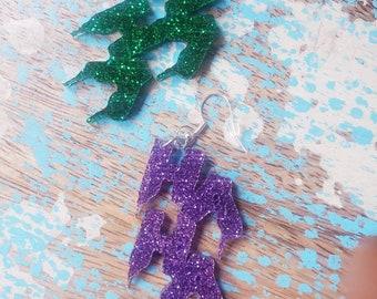HAHA Glitter Earrings- MORE Colors