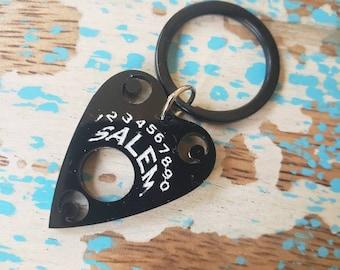 Moon Heart Pet or Key Chain ID Tag Custom