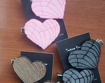 Pan Dulce Hair Clips - More Colors