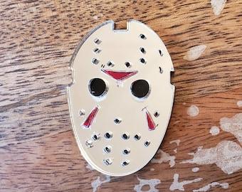 Jason Mask Pin