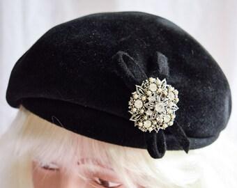 05aea51b47702 Femme fatale hat