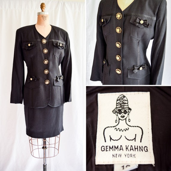 1990s Suit | Gemma Kahng | Vintage 90's Designer B