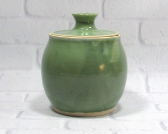 Canister - Ceramic Kitchen Canister - Lidded Jar