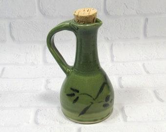 Ceramic Cruet - Salad Dressing Bottle - Handmade Pottery