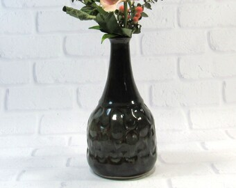 Vase - Bottle Vase- Handmade Pottery