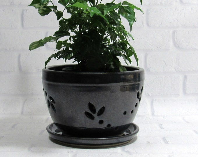 Featured listing image: Flower Pot - Orchid Pot - Planter - Cachepot