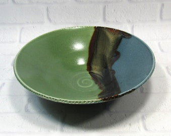 Fruit Bowl - Salad Bowl - Pasta Bowl - Decorative platter - Ceramic Bowl - Centerpiece - accent piece - Tabletop decor