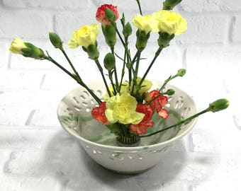 Flower Rings and Bowls
