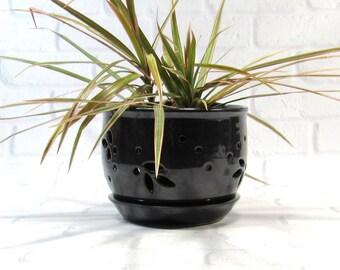 Flower Pot - Orchid Pot - Planter - Cachepot