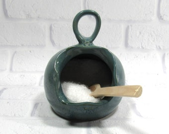 Salt Cellar - Salt Pig - Stovetop Salt Container - Condiment Container - food prep