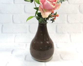 Bud Vase - Bottle Vase - Flower Vase - Mothers Day Gift - Teacher Gift - Handmade Pottery