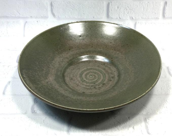 Featured listing image: Fruit Bowl - Salad Bowl - Pasta Bowl - Decorative platter - Ceramic Bowl - Centerpiece - accent piece - Tabletop decor