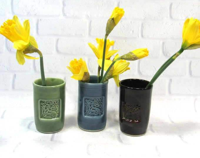 Featured listing image: Wine Cup, Tumbler, Vase, Pencil Holder, Handmade Pottery